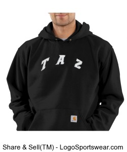 Mens Carhartt Midweight Hooded Pullover Sweatshirt Design Zoom