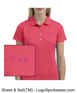 Nike Golf Tech Dri-Fit UV Sport Shirt Womens Design Zoom